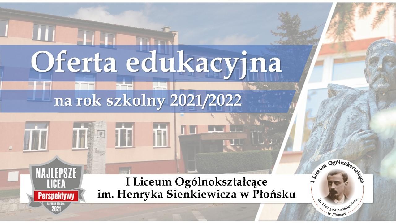 Oferta edukacyjna