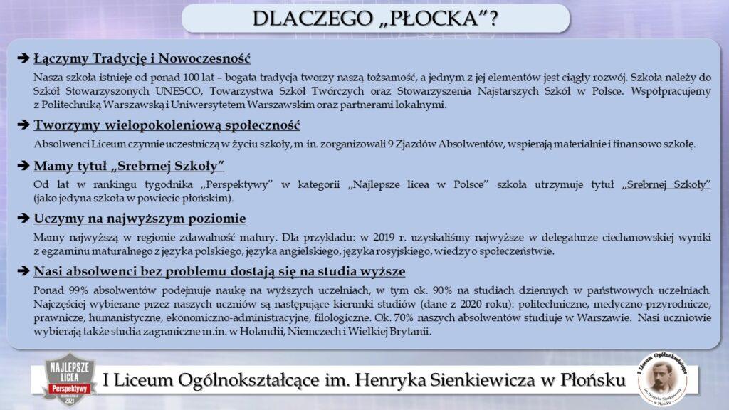 Dlaczego Płocka