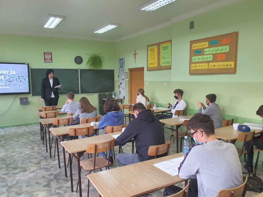 Finał II Powiatowego Konkursu Matematycznego